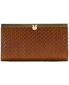 Patricia Nash Woven Leather Cauchy Wallet