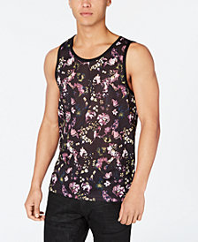 I.N.C. Men's Floral Tank, Created for Macy's