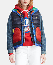Polo Ralph Lauren Colorblocked Down Vest