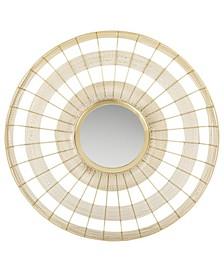 Acton Mirror in Brass