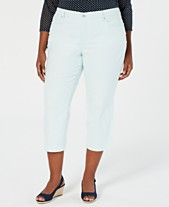 a6356247b31 Charter Club Plus Size Capri Pants