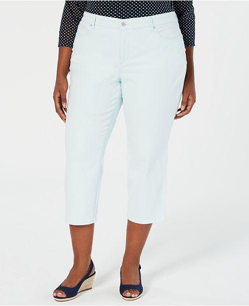 Charter Club Plus Size Capri Pants, Created for Macy's