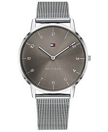 Men's Stainless Steel Mesh Bracelet Watch 40mm