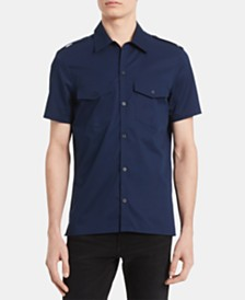 Calvin Klein Men's Boyscout Classic-Fit Utility Shirt
