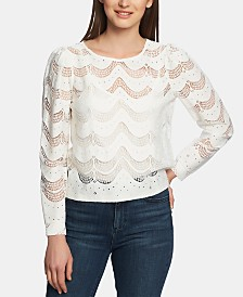 1.STATE Wave-Lace Top