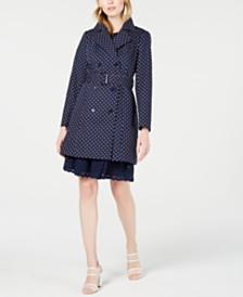 Maison Jules Belted Double-Breasted Trench Coat, Created for Macy's