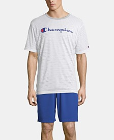 Champion Men's Double Dry Reversible Mesh T-Shirt