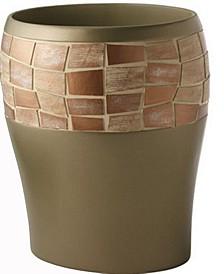Mosaic Wastebasket