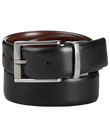 Kenneth Cole Reaction Men's Big & Tall Comfort Stretch Reversible Dress Belt