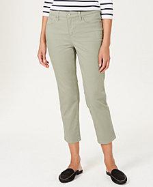Charter Club Tummy-Control Bristol Capri Jeans, Created for Macy's