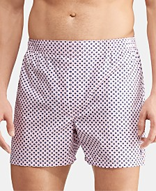 Polo Ralph Lauren Men's Classic Woven Cotton Boxers, 3-Pk.