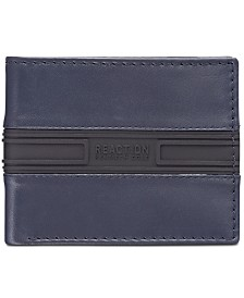 Kenneth Cole Reaction Men's Colorblocked Leather Passcase Wallet