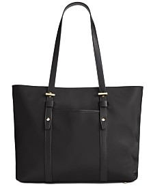 I.N.C. Nylon Commuter Tote, Created for Macy's