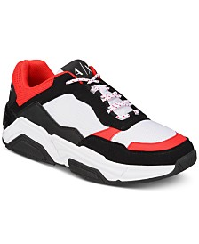 Armani Exchange Men's Dad Sneakers