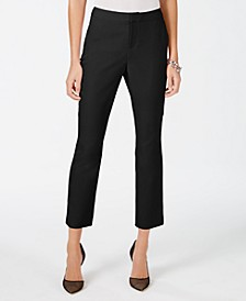 INC Cropped Straight-Leg Pants, Created for Macy's