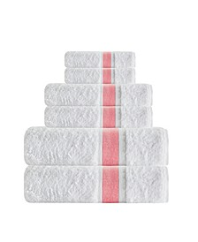 Unique 6-Pc. Turkish Cotton Towel Set
