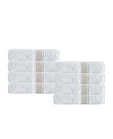 Unique 8-Pc. Turkish Cotton Wash Towel Set