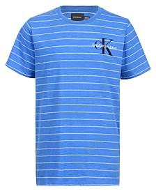 Big Boys Pinstripe Logo T-shirt
