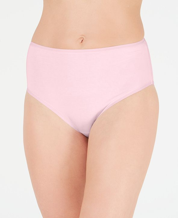 Charter Club Supima Cotton High-Rise Brief Underwear, Created for Macy's