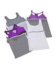 Woolite 4 Pack Active wear Wash Bag Set