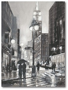 """Illuminated Streets II Gallery-Wrapped Canvas Wall Art - 18"""" x 24"""""""