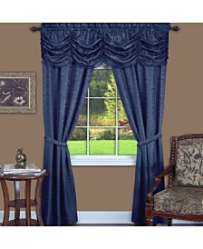 Panache 5 Piece Window Curtain Set, 55x63