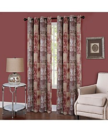 Vogue Grommet Window Curtain Panel, 50x63