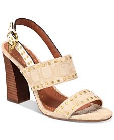 f06abc60a COACH Nessa Clog Sandals   Reviews - Sandals   Flip Flops - Shoes ...