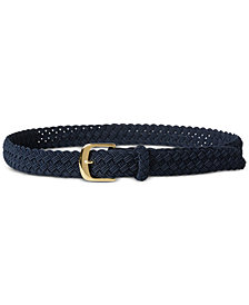 Lauren Ralph Lauren Woven Elastic Stretch Belt