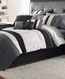 Elsie 7 Pc Queen Comforter Set