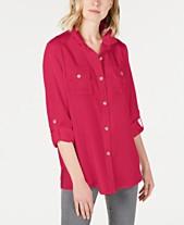 942e6415 Charter Club Utility Shirt, Created for Macy's