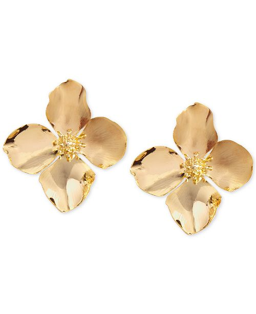 Zenzii Flower Stud Earrings