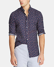 Polo Ralph Lauren Men's Classic-Fit Nautical Shirt, Created for Macy's
