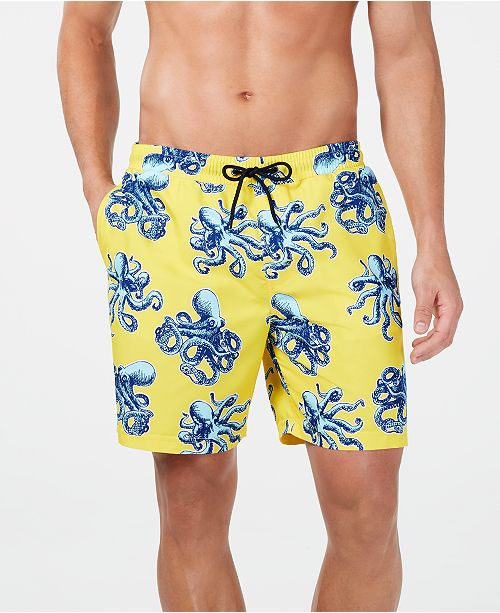 eac6f7b229 Club Room Men's Quick-Dry Performance Octopus-Print 7