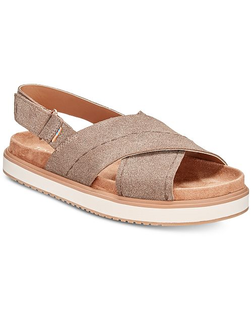 TOMS Women's Marisa Footbed Sandals