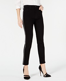 Hudson Jeans Holly Piped Skinny Ankle Jeans