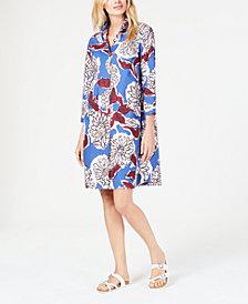 Weekend Max Mara Floral-Print Cotton Shirtdress