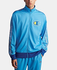 Champion Men's C-Life Colorblocked Track Jacket