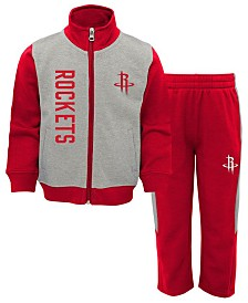 Outerstuff Houston Rockets On the Line Pant Set, Infants (12-24 months)