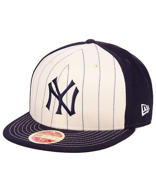 38e0035649ec5 ... New Era New York Yankees Vintage Front 59FIFTY FITTED Cap ...