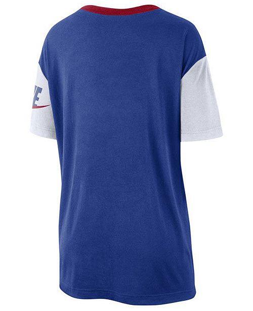 purchase cheap 745a4 1ef37 Women's Texas Rangers Retro Boycut T-Shirt