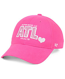 '47 Brand Girls' Super Bowl LIII Sugar Sweet Adjustable Cap