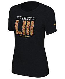 Nike Women's Super Bowl LIII Dri-FIT Peach T-Shirt