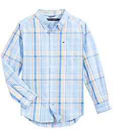 Tommy Hilfiger Little Boys Bentley Plaid Shirt