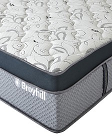 "Broyhill 12"" Twin XL Coventry Cooling Gel Memory Foam Hybrid Innerspring Firm Mattress"