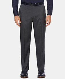Men's Portfolio Classic-Fit Performance Stretch Crosshatch Dress Pants