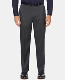 Perry Ellis Men's Portfolio Classic-Fit Performance Stretch Crosshatch Dress Pants