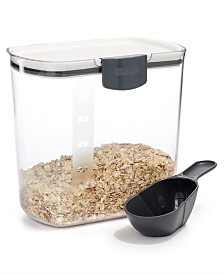 Martha Stewart Collection Grain Keeper with Scoop, Created for Macy's