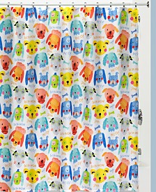 Creative Bath Arf Shower Curtain