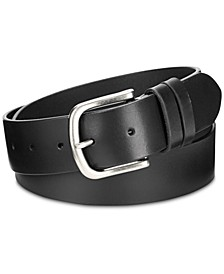 Double-Keeper Leather Belt